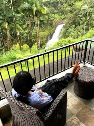 Waterfall verandah